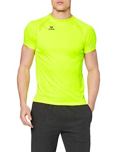 erima Herren T-shirt PERFORMANCE T-Shirt, neon gelb, XL, 8080723