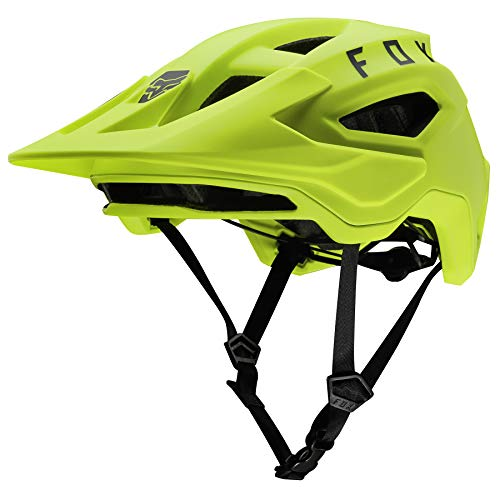 FOX Speedframe 2020 - Casco de bicicleta para hombre, color amarillo fluorescente...