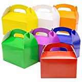 35PCS 7 Colors Treat Gift Paper Cardboard...