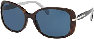 Prada PR08OS CONCEPTUAL Rectangle Sunglasses For Women+FREE Complimentary Eyewear Care Kit