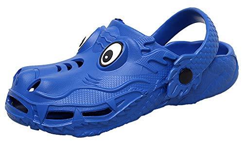 ChayChax Unisex Niños Zuecos Verano Lindo Animados Zapatillas de Jardín Antideslizante Zapatos Chanclas Pantuflas Sandalias de Playa y Piscina