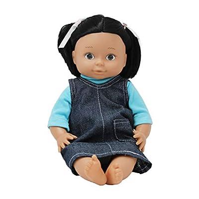 Constructive Playthings MTC-117 Ethnic Doll - Native American Girl