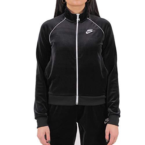 Nike Veste en Velour Femme Noir