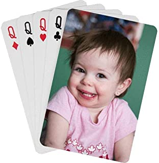 personalized photo playing cards cheap