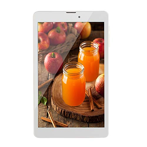 CUHAWUDBA Tableta de 8 Pulgadas Llamada 4G 2G + 32G MTK6737 800X1280 CáMara de 2MP Android 7.0 Tableta de 3500MAh para Oficina (Enchufe de la UE)