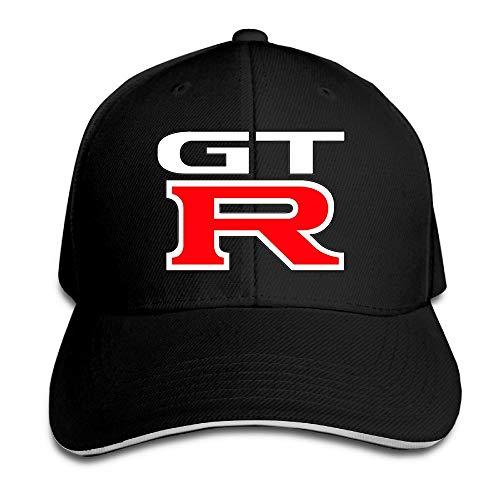 GT R Nissan Logo Baseball Caps Mens Snapback Hip Hop Flat Hat Hüte, Mützen & Caps