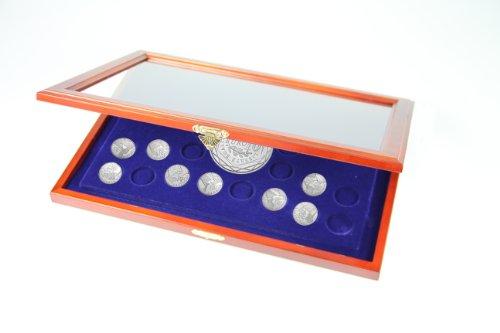 SAFE Münzen-Vitrine Frankreich Regionen in Dosen