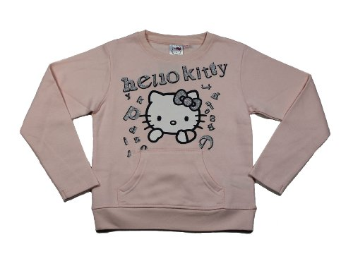 Hello Kitty Sweatshirt Pullover rosa (80511) Gr. 140