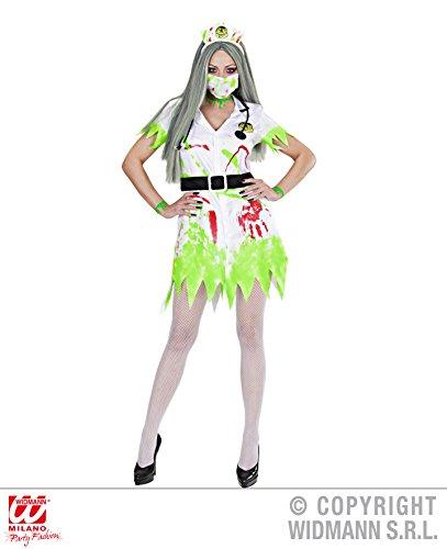 Widmann-WDM9895C kostuum voor meisjes, wit, groen, WDM9895C