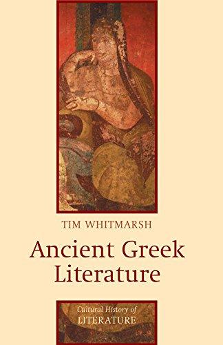 Ancient Greek Literature (Cultural History of Literature)