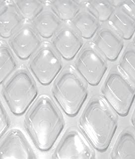 MidWest Canvas Clear Diamond 18-Foot-by-36-Foot Rectangle Solar Cover   16 Mil   Heating Blanket for In-Ground and Above-Ground Swimming Pools