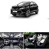 Kit de luz Interior LED sin Errores, Paquete de Accesorios, Licencia de Maletero de Domo de Mapa, para Nissan Qashqai J10 J11 2007-2018 2019
