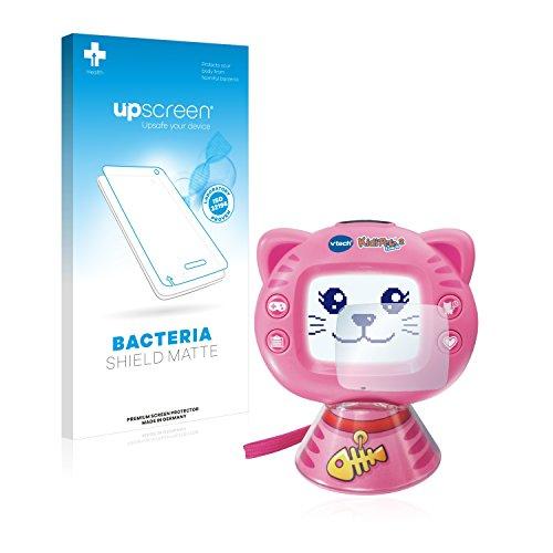 upscreen Antibakterielle Entspiegelungs-Schutzfolie kompatibel mit Vtech KidiPet Touch 2 (Katze) - Anti-Reflex Displayschutzfolie matt