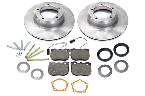 Front Brake Kit for Range Rover Classic (1990-1995) with Standard Rotors & Brake Pads