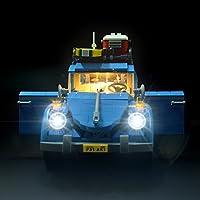 LIGHTAILING Licht-Set Für (VW Käfer) Modell - LED Licht-Set Kompatibel Mit Lego 10252(Modell Nicht Enthalten)