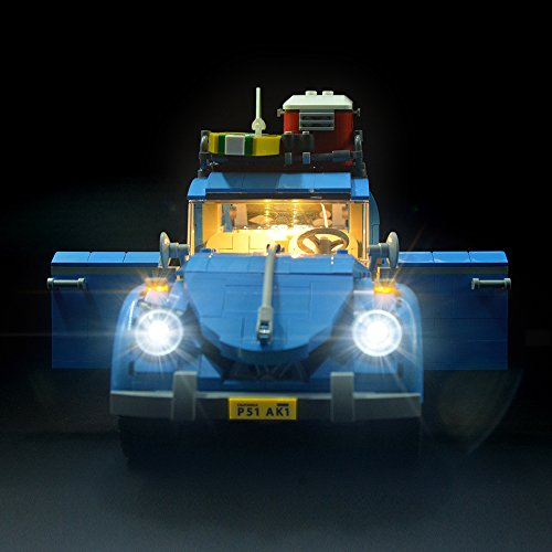 LIGHTAILING Conjunto de Luces (Creator Expert Volkswagen Beetle) Modelo de Construcción de Bloques - Kit de luz LED Compatible con Lego 10252 (NO Incluido en el Modelo)