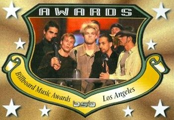 Backstreet Boys trading card 2000 WL #4 Billboard Music Awards AJ McLean Nick Carter Howie D Kevin Richardson Brian Littrell