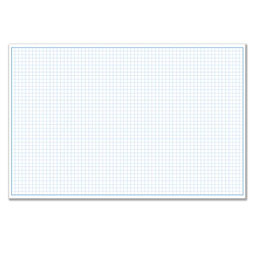 "11x17"" / Quadrille Grid Blueprint and Graph Paper (5 Pads, 50 Sheets Per Pad)"