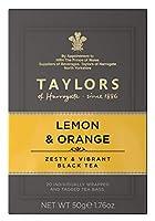 テイラーズ オブ ハロゲイト レモン&オレンジ 紅茶 ティーバック20p入(リーフ50g相当)