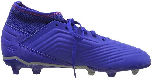 adidas Unisex-Erwachsene Predator 19.3 FG J Fußballschuhe, Mehrfarbig (Multicolor 000), 38 2/3 EU