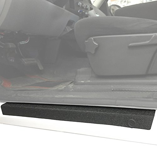 Red Hound Auto Door Sill Entry Guards Scratch Shield Compatible with Chevy GMC Silverado Sierra 1500 2007-2013 Crew Cab & 08-14 2500 HD 3500 HD 4pc Protector Paint Protection Guard