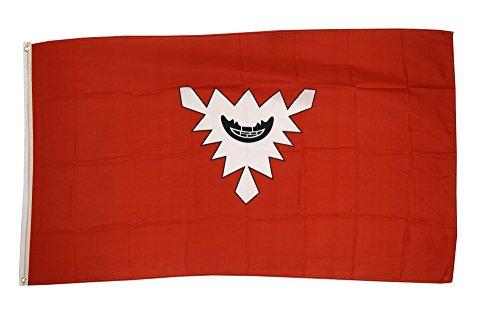 Fahne / Flagge Deutschland Stadt Kiel + gratis Sticker, Flaggenfritze®