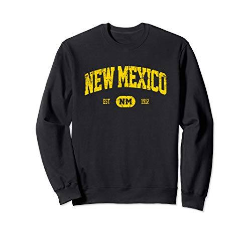 Diseño vintage de estilo retro de Nuevo México MCMA Sudadera