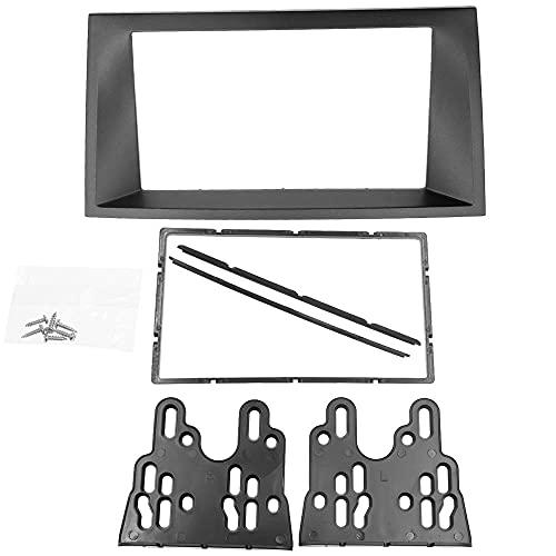 173 * 98mm 2 DIN Car Radio Fascia Apto para Monder 2002-2006 DVD Stereo Frame Panel Montaje Dash Instalación Bisel Kit