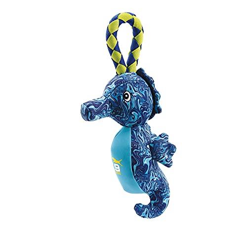 Zeus K9 Fitness Hydro Hundespielzeug, Wasserspielzeug für Hunde, Seepferdchen