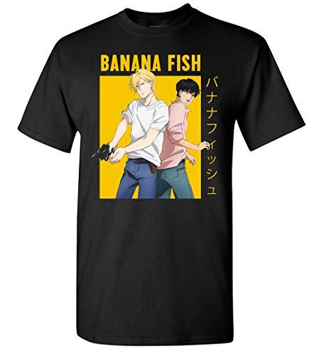 Banana Fish Anime Ash Lynx Eiji Okumura Yaoi Camiseta