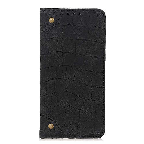 DENDICO Coque Sony Xperia L3 Housse en Cuir en Folio Portefeuille à Rabat Flip Cover Anti Choc Coque avec Porte-Carte pour Sony Xperia L3 - Noir