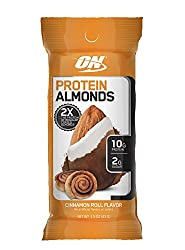Optimum Nutrition Protein Almonds Snacks, Immune Support with Vitamin E, On The Go Nutrition, Low Su