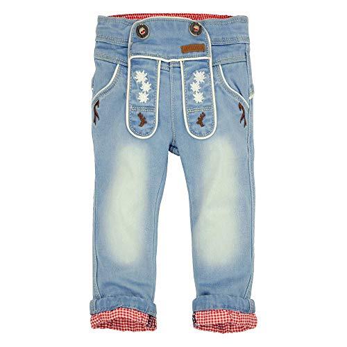 BONDI Trachtenjeans, Blue Denim 62 Tracht Baby Jungs Artikel-Nr.91135