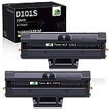 JARBO MLT-D101S Cartuchos de tóner Compatible para Samsung MLT-D101S Samsung ML-2160 ML-2164 ML-2165 ML-2165W ML-2168 SCX-3400 SCX-3405 SCX-3405W SCX-3400F SCX-3405F SCX-3405FW SF-760P, 2 de Negro