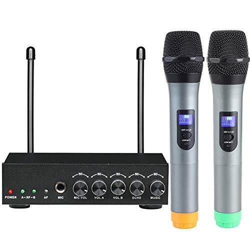 TEVISE Micrófono de mano-10 S Sonido Claro micrófonos inalámbricos Funcionamiento Fino for la Clase y el Canto Inicio Altavoz Portátil Reproductor ( Color : 6 )