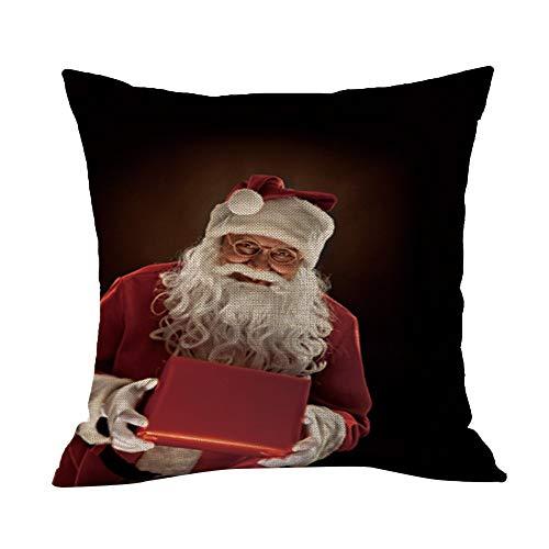 HEVÜY 45x45 cm kussensloop linnen kussenslopen kussenhoes sofakussen bank decokussen overtrekken sofa decoratie beddengoed