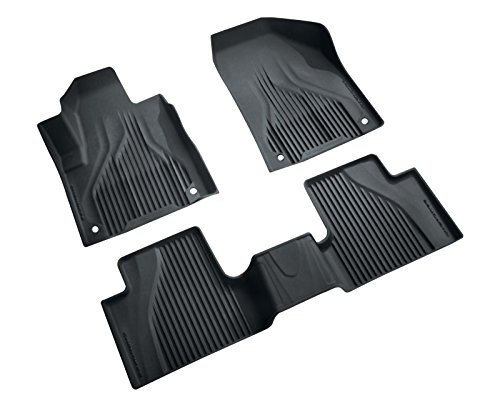 Mopar 82214098AB Black All-Weather Floor Mat