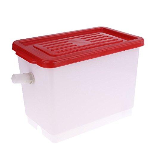 Tubayia 12L Kunststoff Wassertank Wasserbehälter für Landwirtschaft Automatische Bewässerungssystem