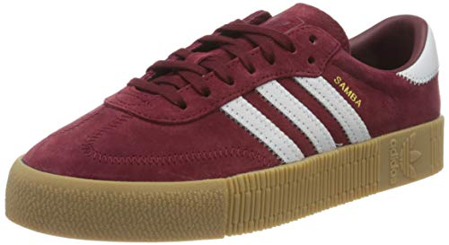 adidas Women's F36268_38 Low-Top Sneakers, Burgundy, 4 UK