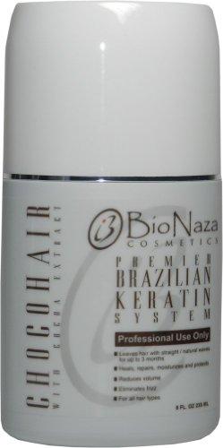 BioNaza ChocoHair Brazilian Keratin Treatment 8 Oz (No Wait Time)