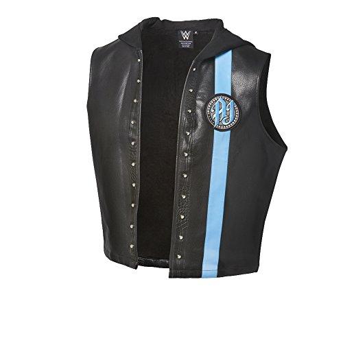 WWE Herren Top schwarz / blau Gr. XL, Schwarz