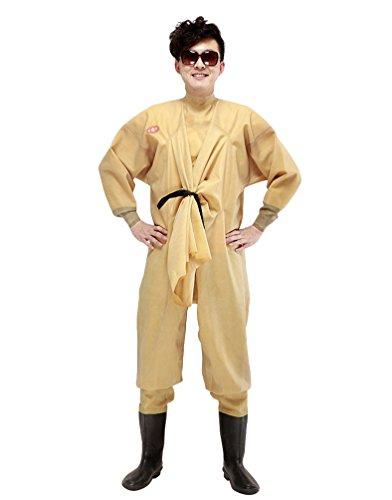 Xinwcang Neutral Angelanzug Wasserdicht Herren Damen Wathose Fischerhose Wasserdicht Teichhose Gelb 40