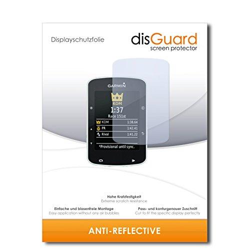 disGuard Displayschutzfolie für Garmin Edge 520 [3 Stück] Anti-Reflex, MATT, Entspiegelnd, Extrem Kratzfest, Anti-Fingerabdruck - Displayschutz, Schutzfolie, Panzerfolie