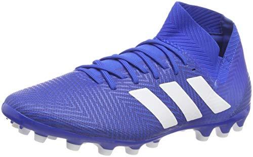 adidas Nemeziz 18.3 AG, Zapatillas de Fútbol para Hombre, Azul (Football Blue/Footwear White/Football Blue 0), 42 2/3 EU