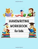 Handwriting Workbook for Kids: Practice Paper Notebook, Animal Studying Journal, Blank Dotted Midline Writing Sheets Notebook For Preschool And Kindergarten