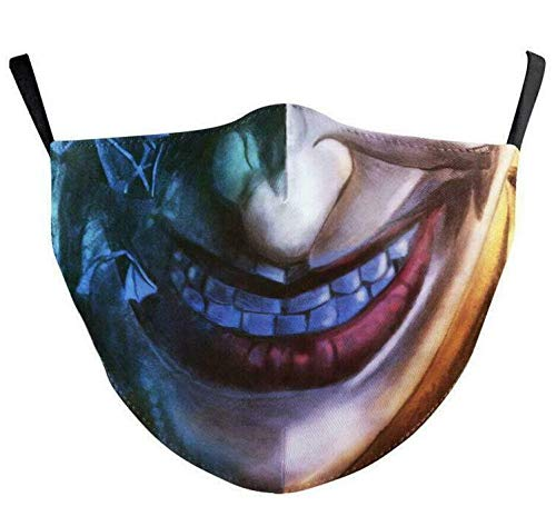 ROXX (Joker Outdoor Mask with Changeable Filter, Unisex Anti Pollen Allergens Filters Dust Includes 1 Filter