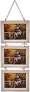 dcasa - Marco de fotos multiple colgante original de madera
