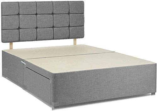 Suede Divan Bed Frame Cheapest Prices In The UK Prices Slashed For Limited Time Only (5ft King Size)