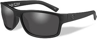 Harley-Davidson Men's Slick Sunglasses, Smoke Lenses/Matte Black Frames HASLK01