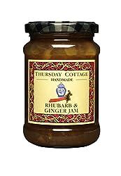 Thursday Cottage Rhubarb & Ginger Jam Delicious handmade jam 340g